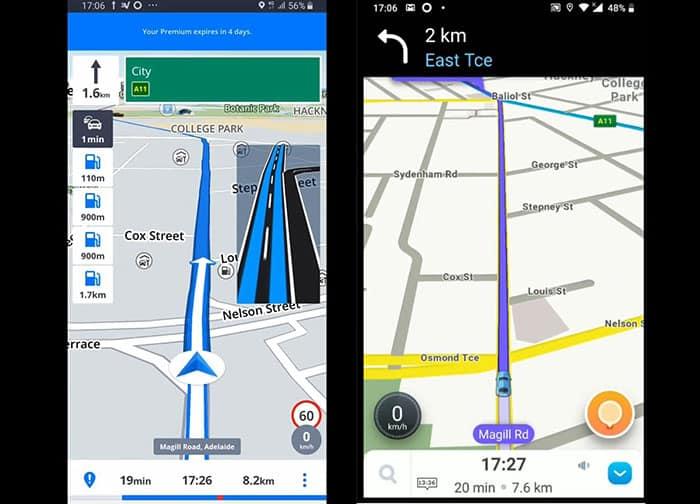 Image of Sygic vs Waze Navigation