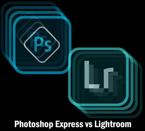 Photoshop Express and Lightroom Icon