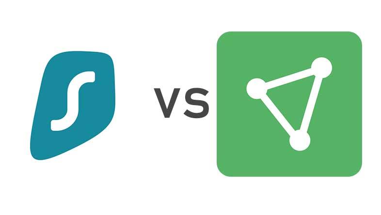 Surfshark vs ProtonVPN